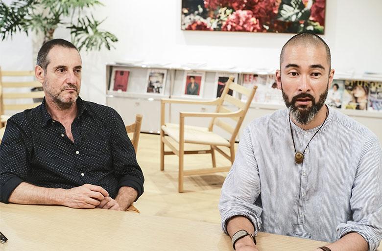 ジェローム・ワーグさん、原川慎一郎さんインタビュー