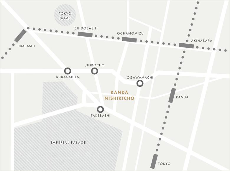 神田錦町の地図